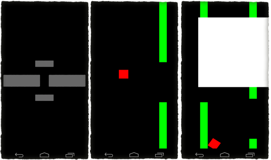 The first playable version of our 'Flappy Bird' replacement